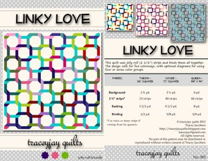 Image of Linky Love PDF Quilt Pattern