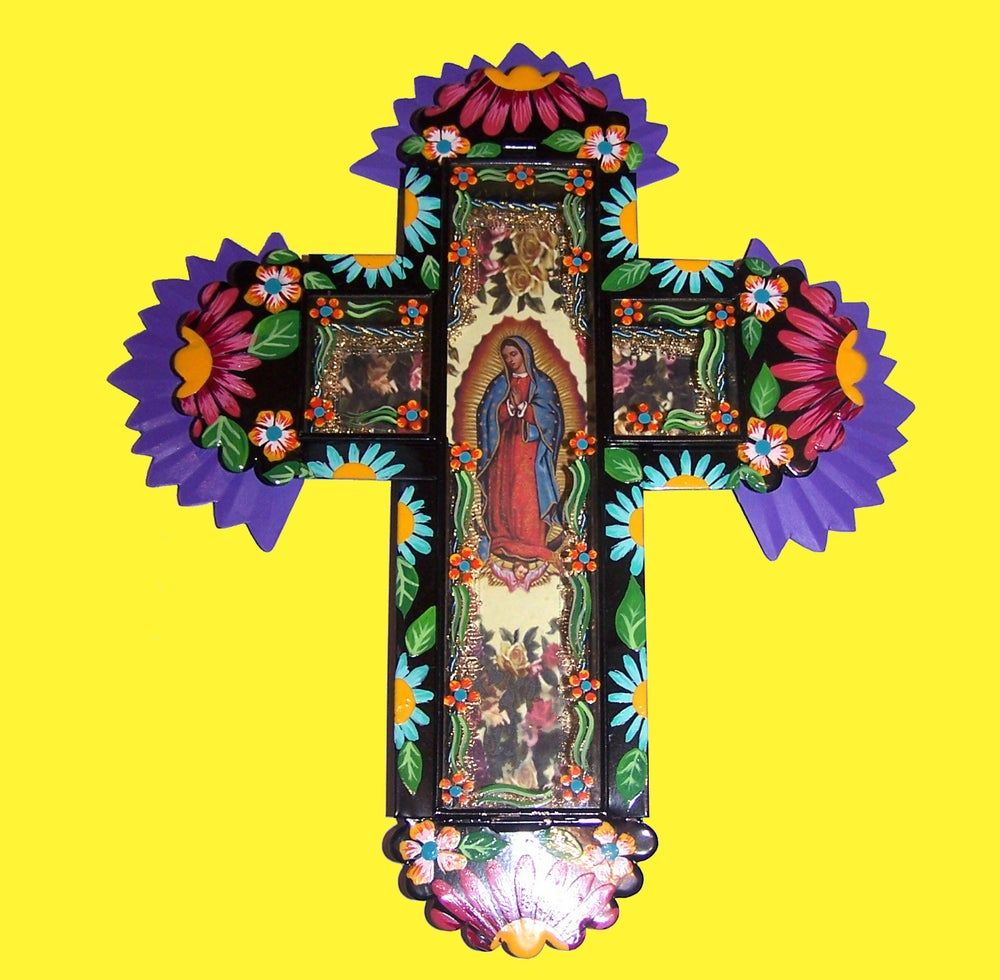 Image of Our Lady of Guadalupe Cross