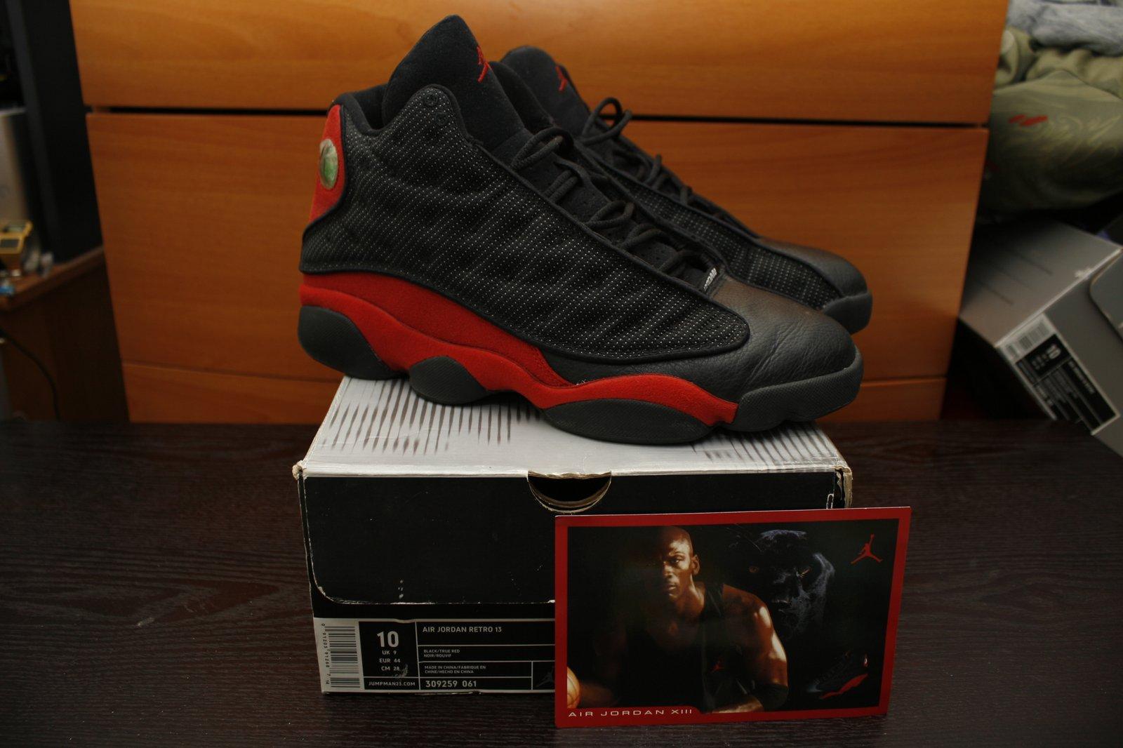kupować tania wyprzedaż usa Nowy Jork Nike Air Jordan XIII 13 Retro 2004 Bred / Nas's shop