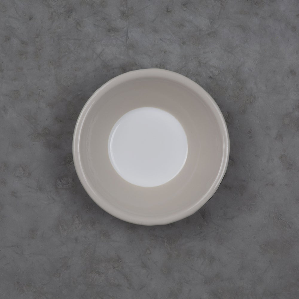 Image of Enamel Bowl SAND GREY 12cm