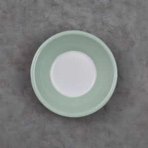 Image of Enamel Bowl GREEN ALMOND 12cm