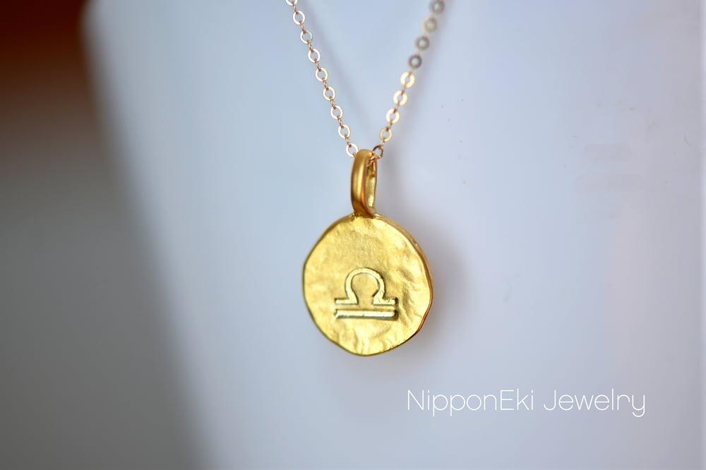 Image of Personalized Zodiac Sign Necklace - horoscope Necklace