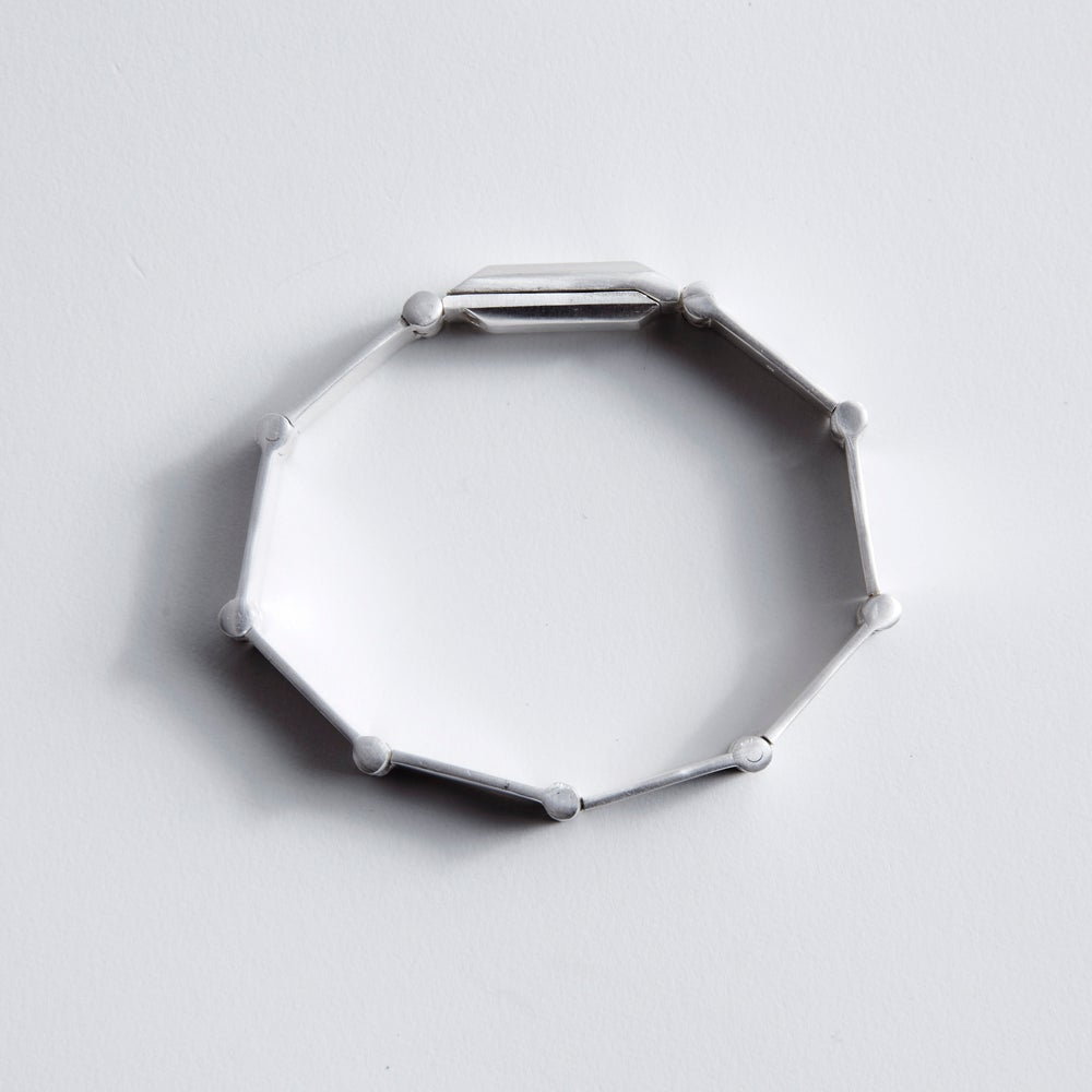Image of PLATELET BRACELET — SILVER