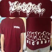 Image of Logo T-Shirt burgundy
