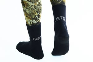 Image of Cartel Dive 3mm Midnight Socks / Booties Reduced From $49