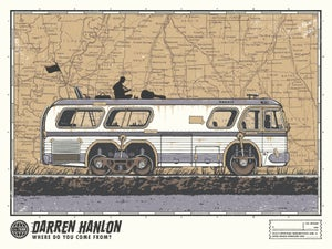 Image of Darren Hanlon - Numbered Print w/ song download