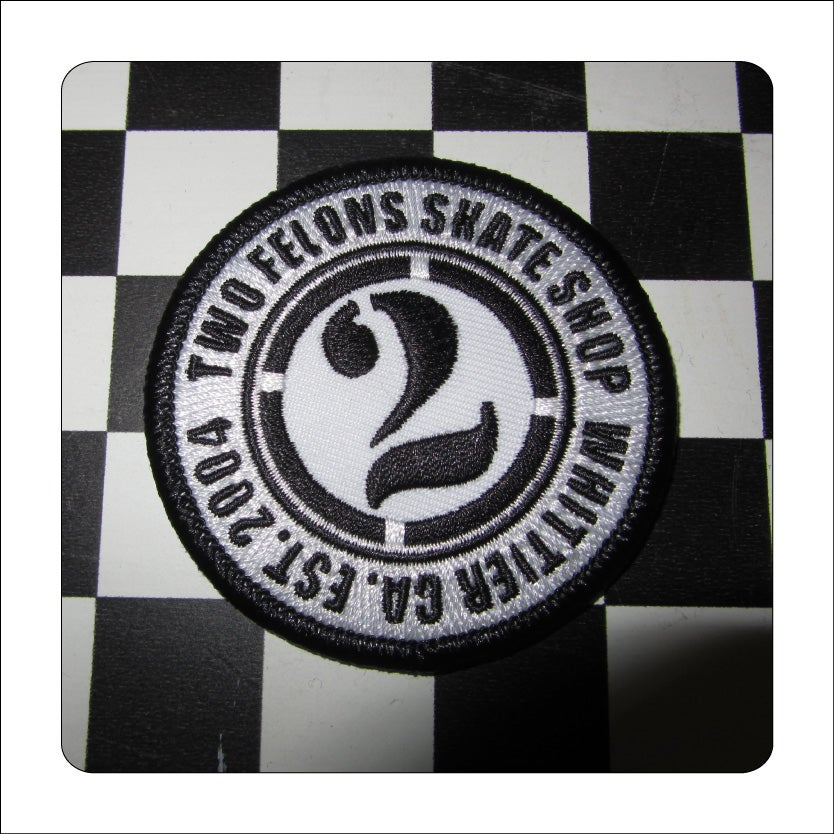 Image of Two Felons EST 04 Patch