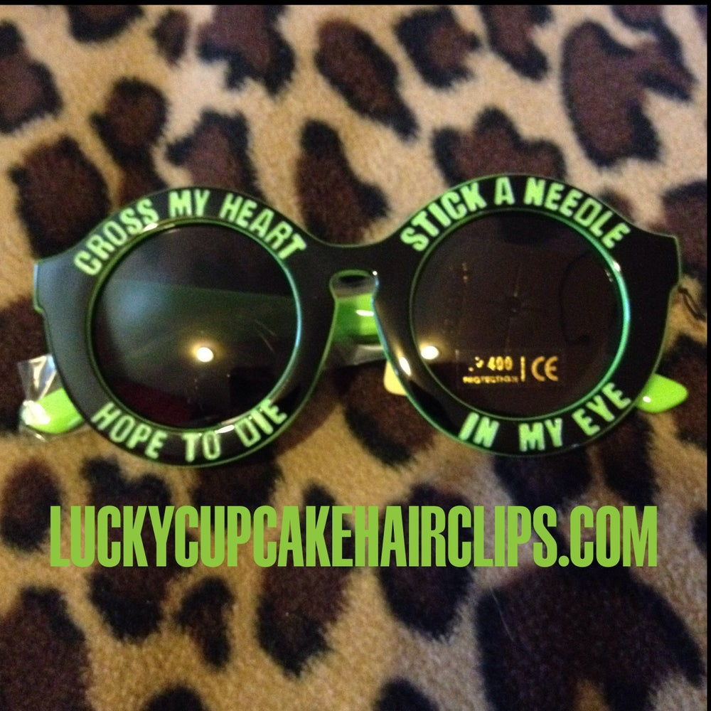 Image of Cross My Heart Sunnies