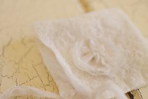 Image of Alpaca Silky Felted Bonnet