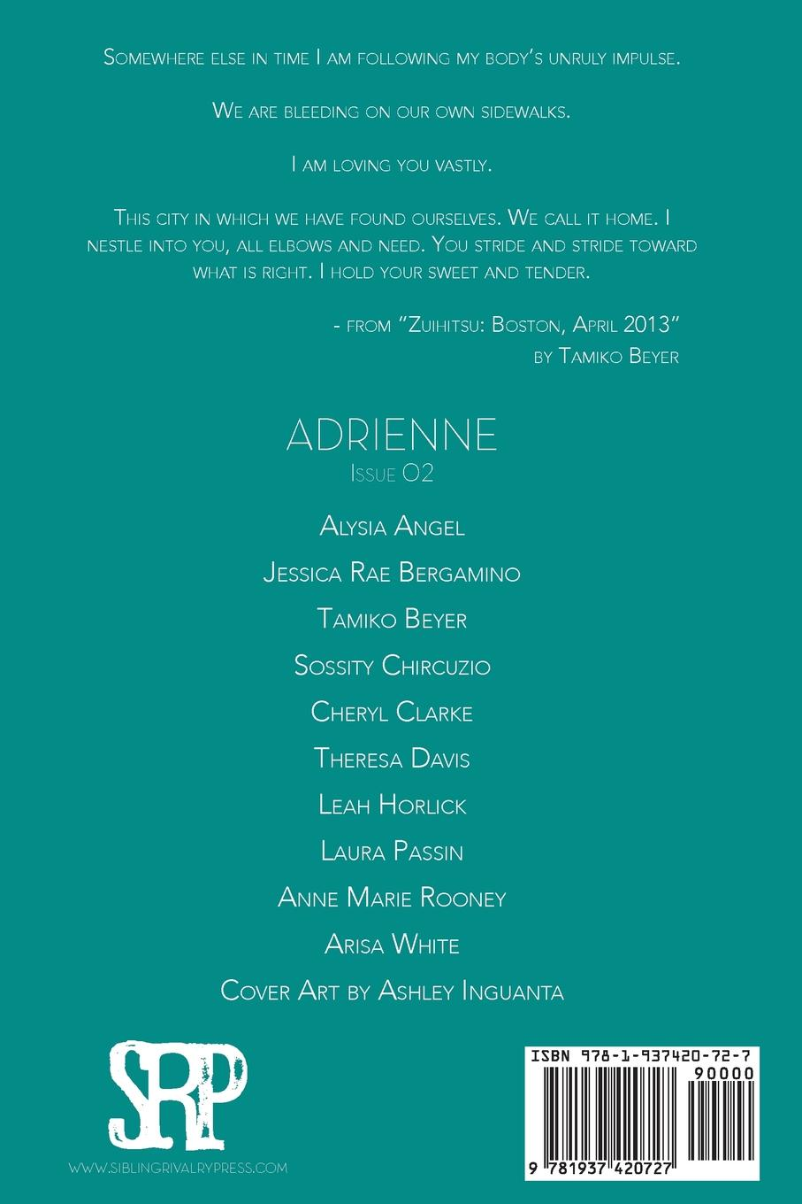 Image of Adrienne Issue 02: A Poetry Journal of Queer Women