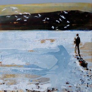 Image of Gull Watching, Daymer Bay, Cornwall