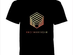 Image of Black Hexigon Tee