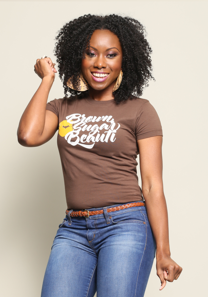 Image of Caramel Kiss Chocolate Tee