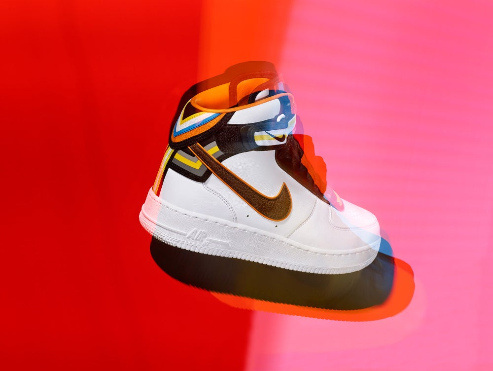 new style 53db5 654ef Image of NIKE + R.T. Riccardo Tisci AIR FORCE 1 MID COLLECTION UK SIZE 9