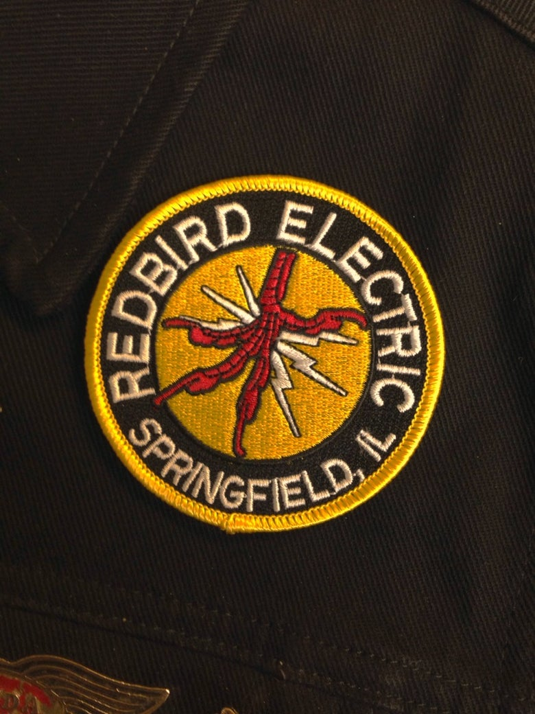 """Image of Redbird Electric 3"""" patch"""