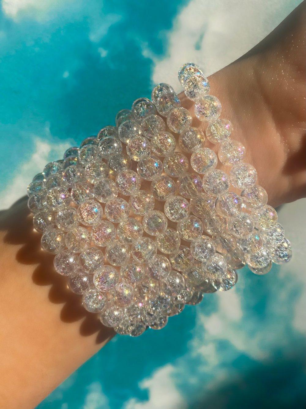 Image of Aura Crackle Quartz Bracelet