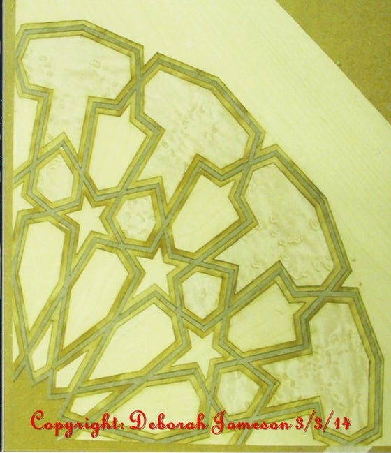 Image of Item No. 70.  Geometric Design.  ** HAND CUT **