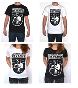 Image of Shirts (black and white) - fair trade
