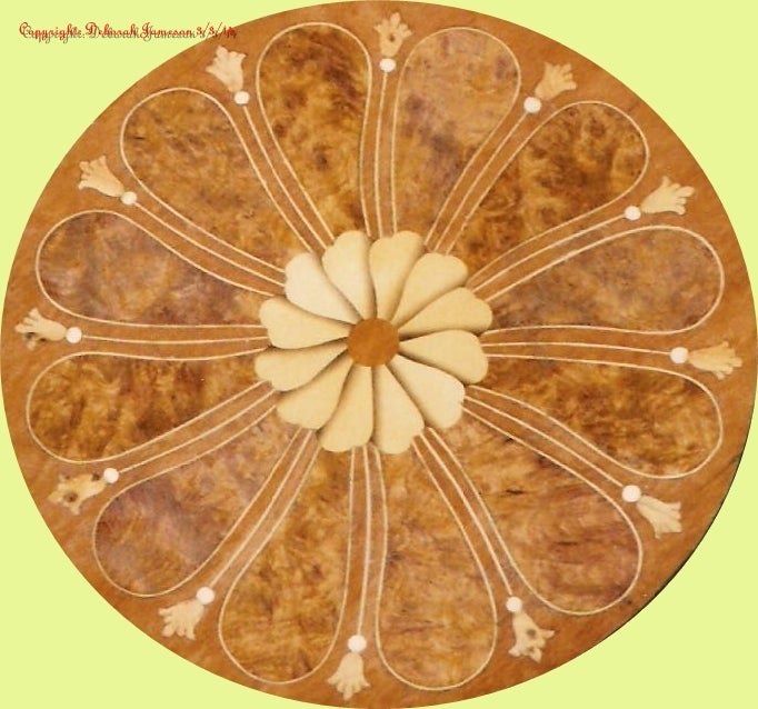 Image of Item No. 504. Circular Spider Design.