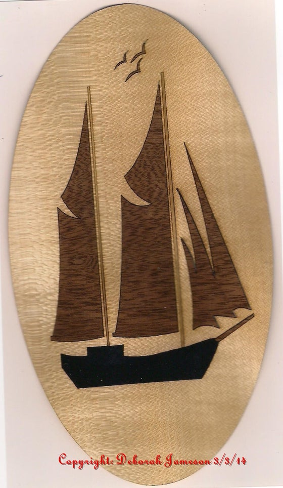 Image of Item No. 68.  Sail Ship Design.