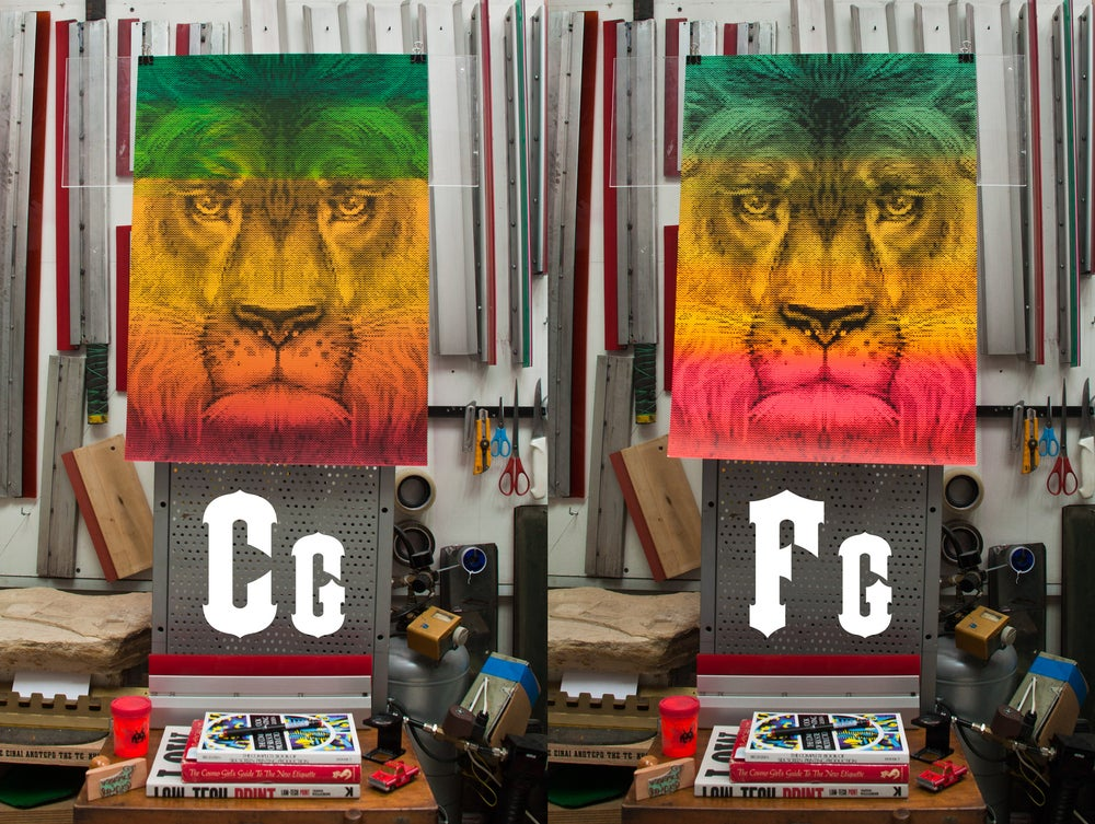 Lion / International Reggae Poster Contest