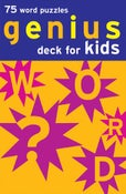 Image of Genius Deck Word Puzzles for Kids