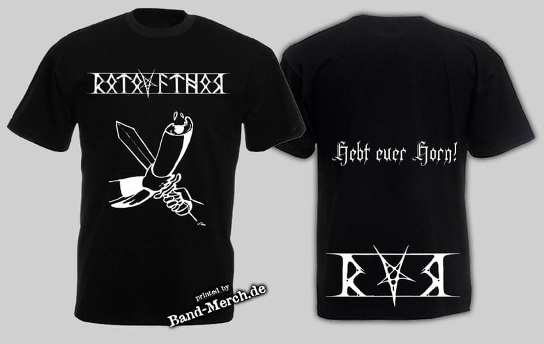 """Image of T-Shirt """"Hebt euer Horn"""""""