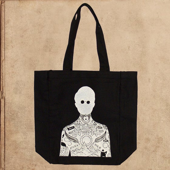 Image of Illustrated man - tote