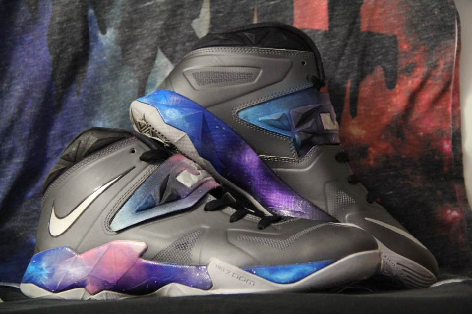 "Image of Lebron 7 soldier ""soldiers in the galaxy"" Custom"