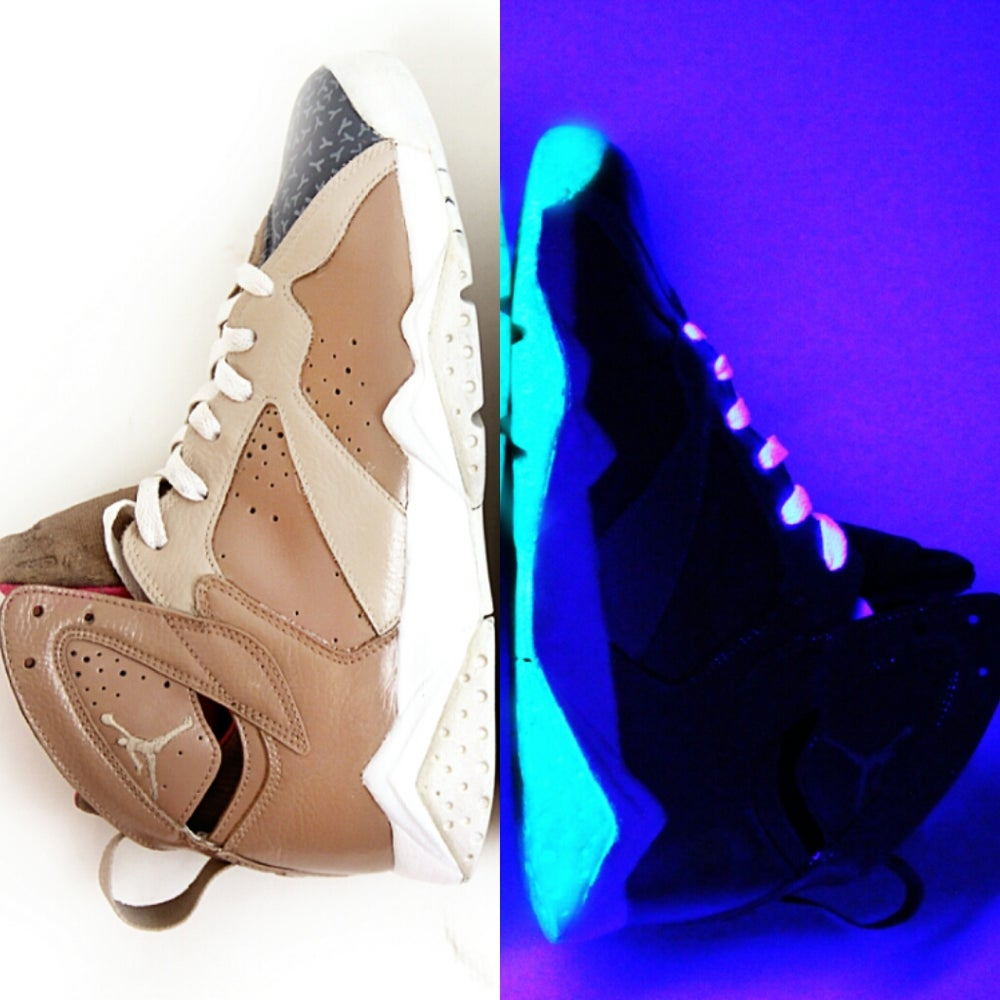 Image of send your shoes for a yeezy colorway (glow)