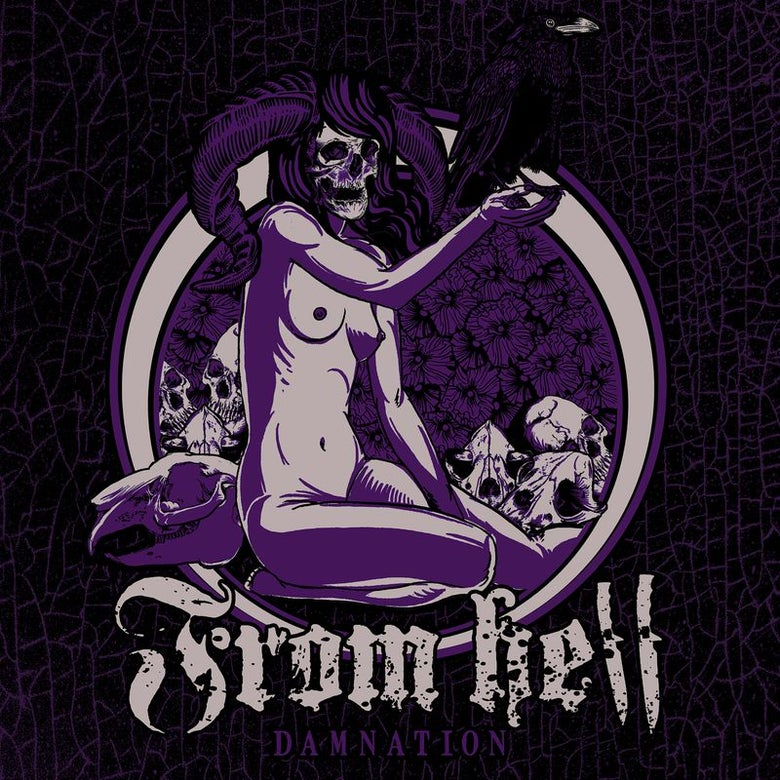 "Image of From Hell - ""Damnation"" 7""EP"