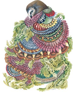 Image of Quilted Forest: Owl
