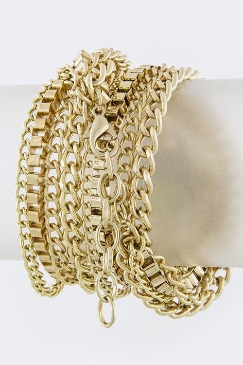 Image of Chain Link Wrap Watch