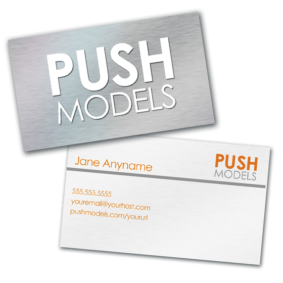 Image of Personalized PUSH Models Business Card