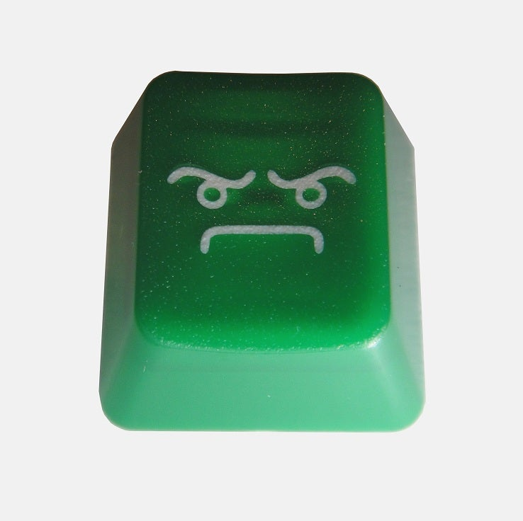 Image of Translucent Forest Green LOF(Look of Fury) Keycap
