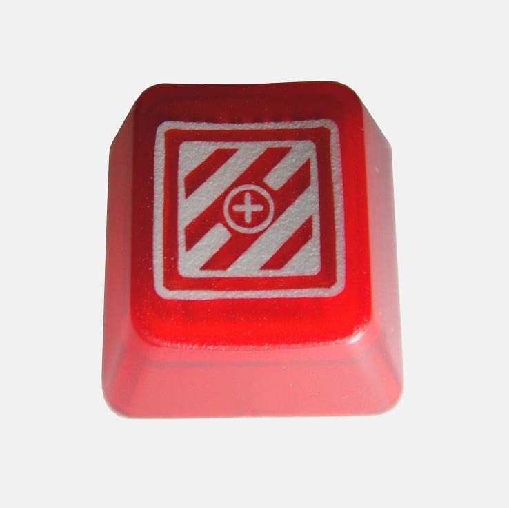 Image of Translucent Red KeyPop Keycap