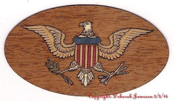 Image of Item No. 158.  American Eagle.