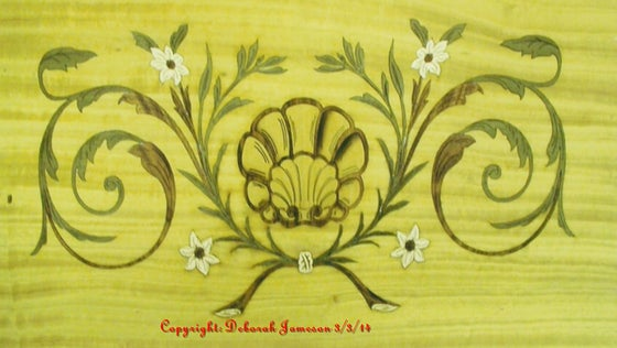 Image of Item No. 143.  Beautiful Oyster Shell Panel Design.