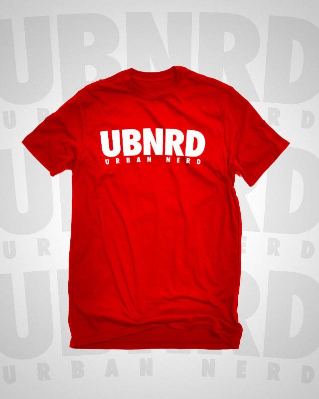 Image of Urban Nerd ™ HASHTAG TEE (RED)