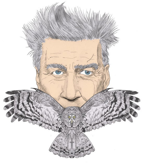 Image of David Lynch Print