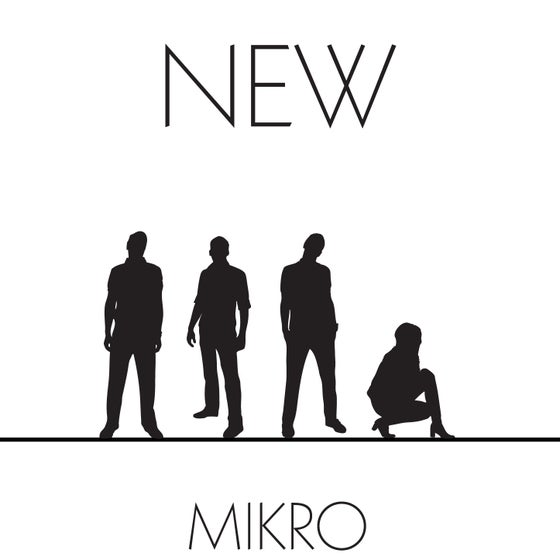 "Image of MIKRO ""New"" CD album"