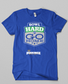 Bowl Hard or Go HOME!! // Royal Blue & Green