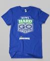 Bowl Hard or Go HOME!! // Royal Blue & Green