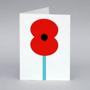 Image of Poppy card