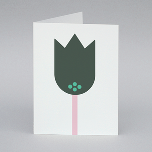 Image of Tulip card