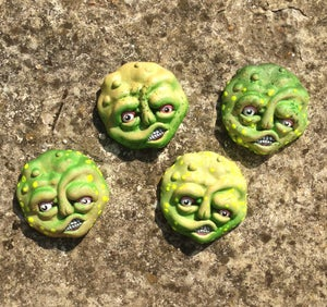 "Image of Toxie | 3.5"" Resin Faces"