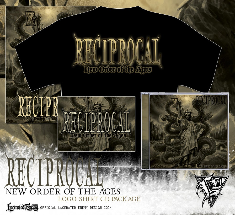 RECIPROCAL - logo shirt CD / DIGIPACK package