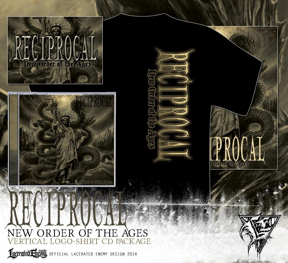 RECIPROCAL - vertical logo shirt CD / DIGIPACK package