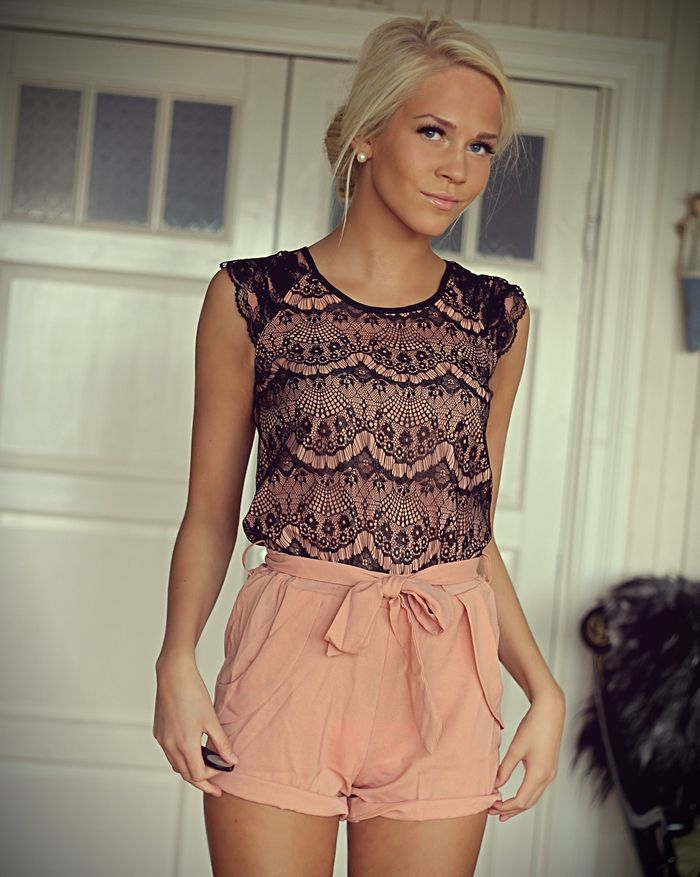 Image of lace One-Piece