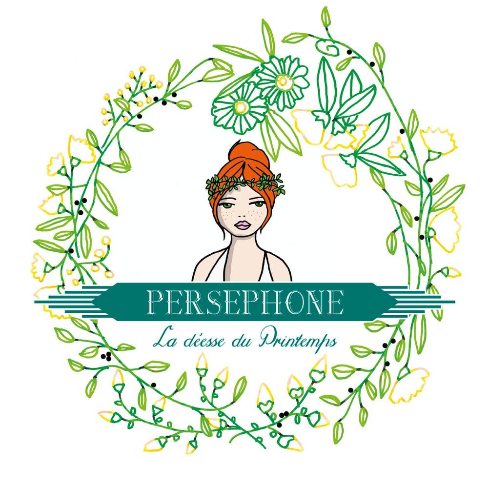 """Image of Box """"Perséphone, déesse du printemps"""" édition limitée 50 exemplaires."""